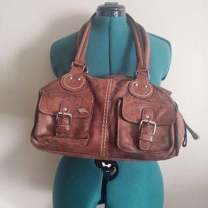 Roots Canada Geniue Leather Shoulder Bag